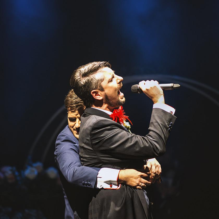 Si tu me abrazas...Boda Javi y Chris